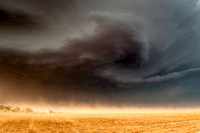 Supercell and Dust Storm