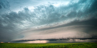 Supercell With Shelf Cloud