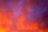 Spectacular Sky During Record Heat