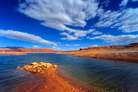 Scenic View of Lake Powell, Utah