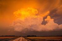 Storm at Sunset, 1997