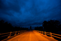 Stormy Sky Over Bridge, Illinois