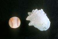 Hailstone Larger Than a Baseball