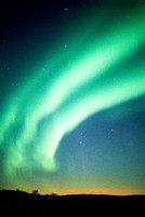 Northern Lights Over Arctic Circle, Alaska