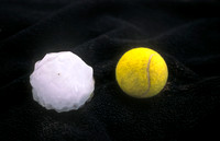Tennis Ball-Sized Hailstone