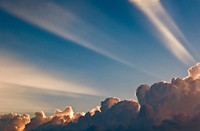 Crepuscular Rays and Clouds