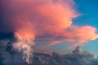 Towering Clouds at Sunset
