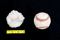 Baseball-Sized hail.