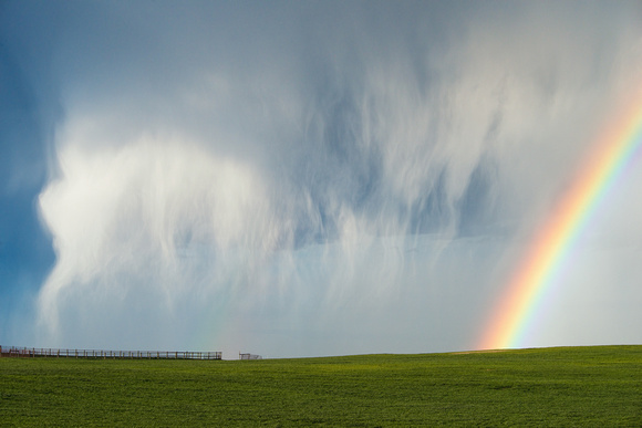 Rainbow and Hal Shaft (Horizontal)