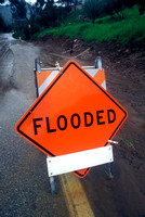 Warning Sign - Flooded Road